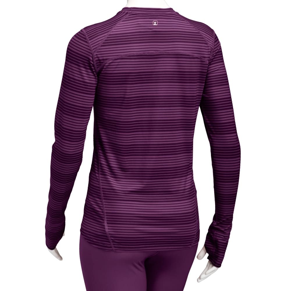 EMS® Women's Techwick® Lightweight Long-Sleeve Crew Baselayer  - PLUM PERFECT