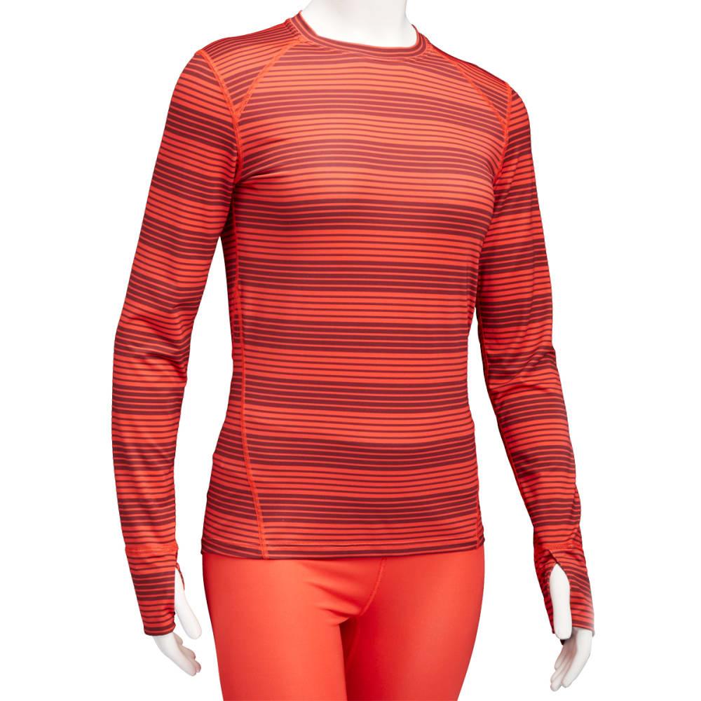 EMS® Women's Techwick® Lightweight Long-Sleeve Crew Baselayer - POPPY RED