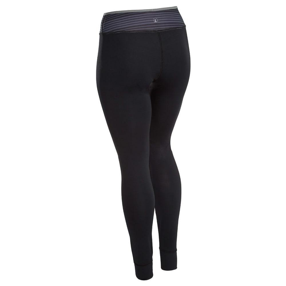 EMS® Women's Techwick® Silkweight Baselayer Tights - JET BLACK