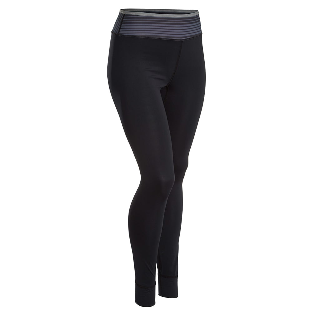 EMS® Women's Techwick® Silkweight Baselayer Tights  - JET BLACK