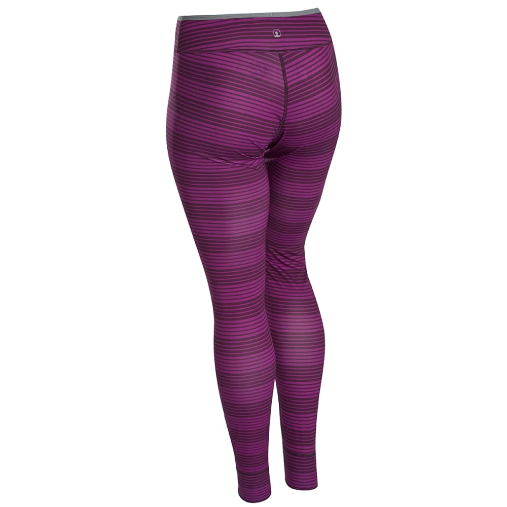 EMS® Women's Techwick® Silkweight Baselayer Tights  - PLUM PERFECT