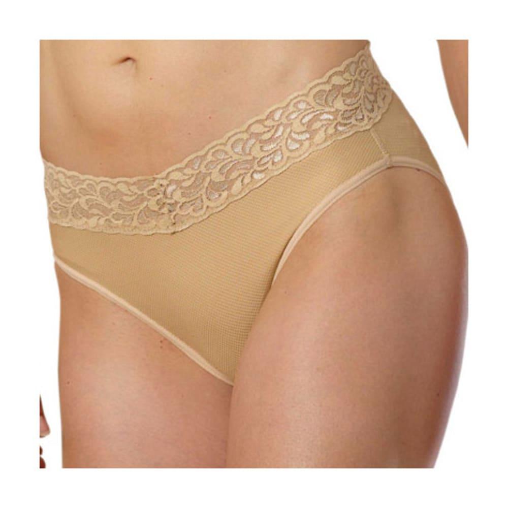 EXOFFICIO Women's Give-N-Go Lacy Bikini - NUDE