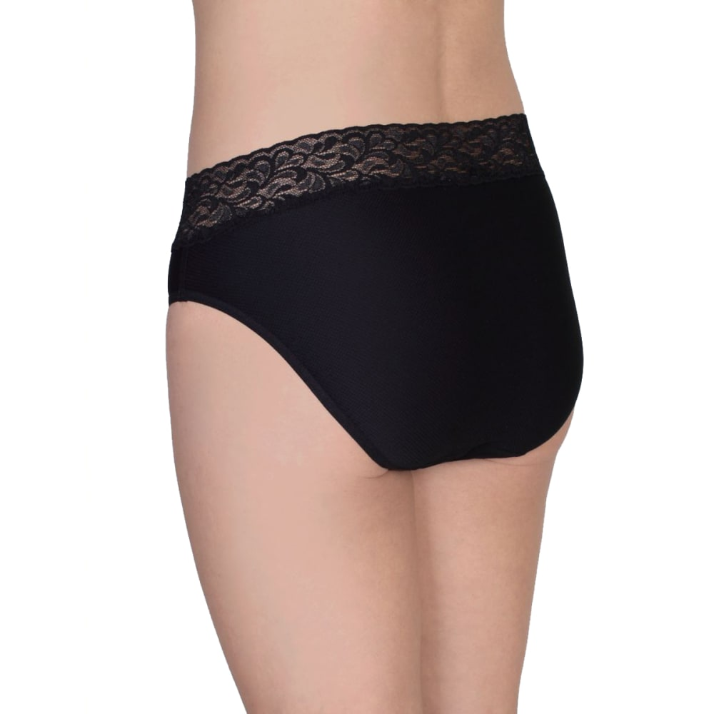 EXOFFICIO Women's Give-N-Go Lacy Bikini - BLACK