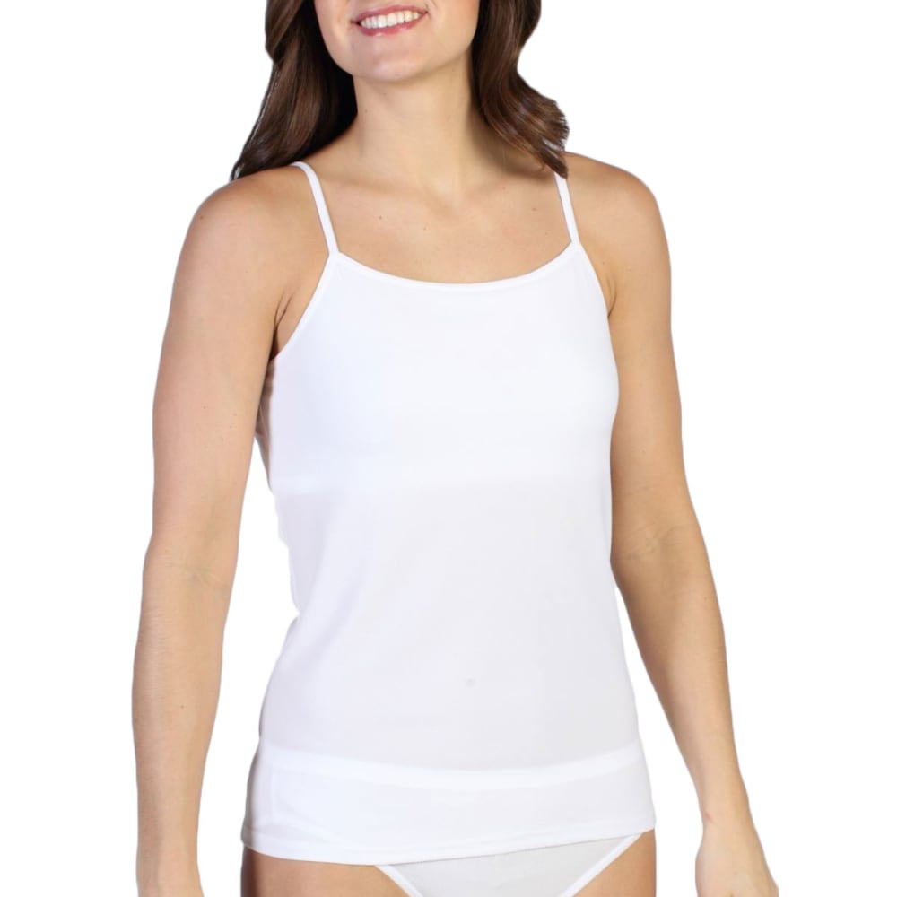 EXOFFICIO Women's Give-N-Go Shelf Bra Camisole - WHITE