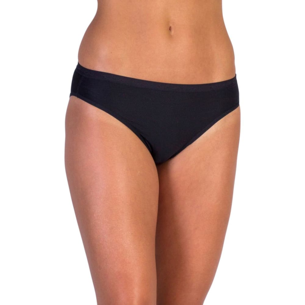 EXOFFICIO Women's Give-N-Go Bikini Briefs - BLACK-9999