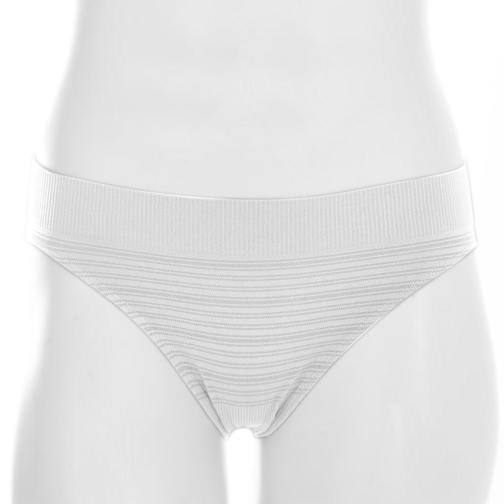 EMS® Women's Seamless Feather Bikini Brief - WHITE