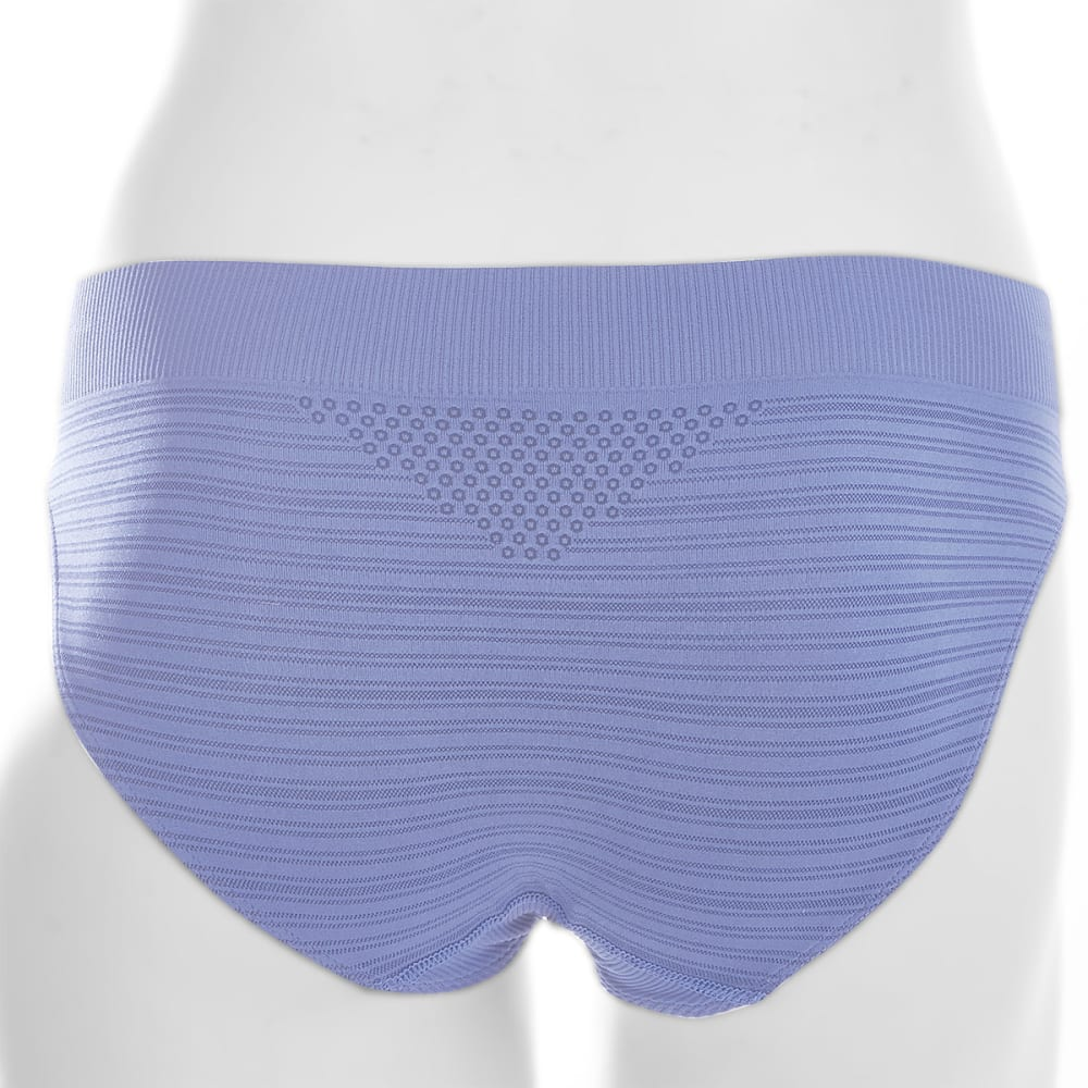 EMS® Women's Seamless Feather Bikini Brief  - PERIWINKLE