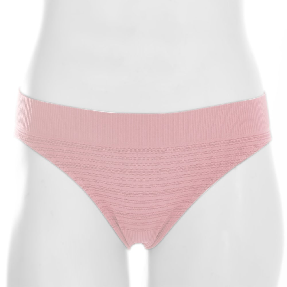 EMS® Women's Seamless Feather Bikini Brief  - CRYSTAL ROSE
