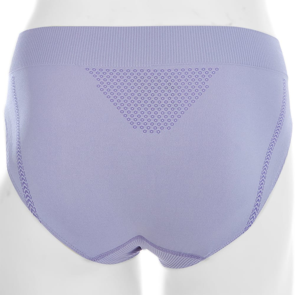 EMS® Women's Seamless Feather High-Rise Brief  - PERIWINKLE