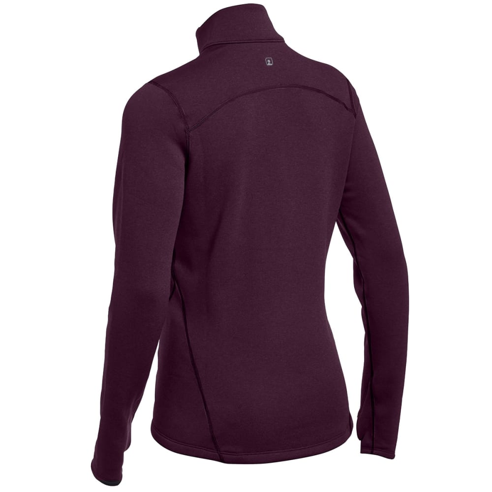 EMS® Women's Techwick® Heavyweight ¼ Zip Baselayer  - PLUM PERFECT