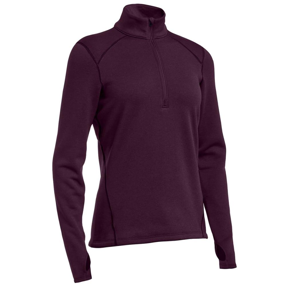 EMS® Women's Techwick® Heavyweight ¼ Zip Baselayer - PLUM PERFECT