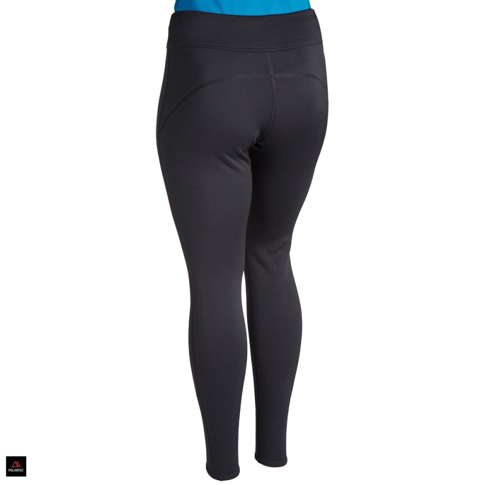EMS® Women's Techwick® Heavyweight Baselayer Tights  - BLACK