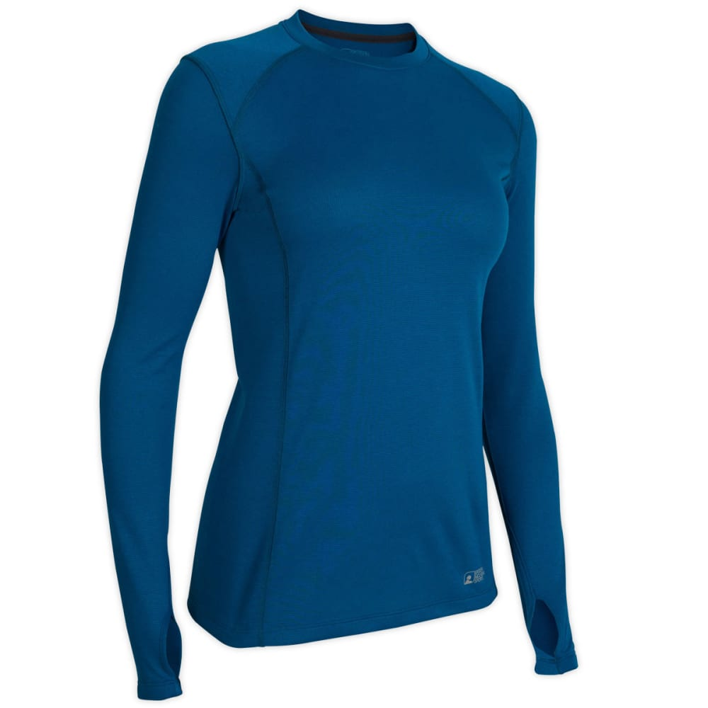 EMS® Women's Techwick® Midweight Long-Sleeve Crew Baselayer  - PEACOCK