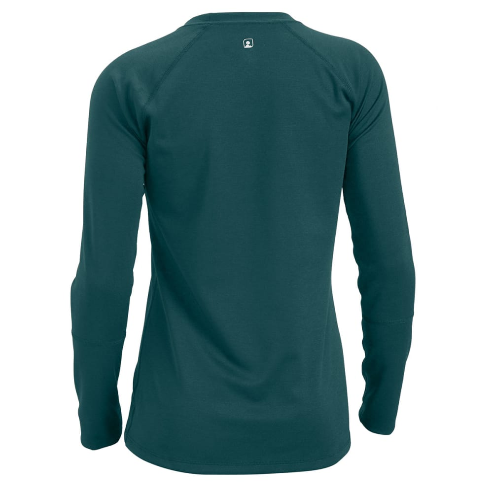 EMS® Women's Techwick® Midweight Long-Sleeve Crew Baselayer  - JADEITE/BALSAM