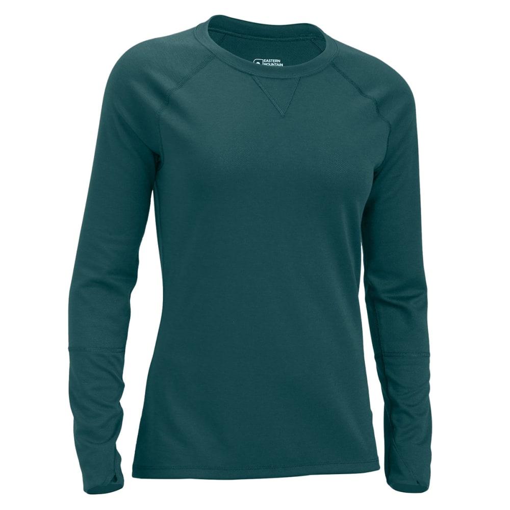 EMS® Women's Techwick® Midweight Long-Sleeve Crew Baselayer - JADEITE/BALSAM