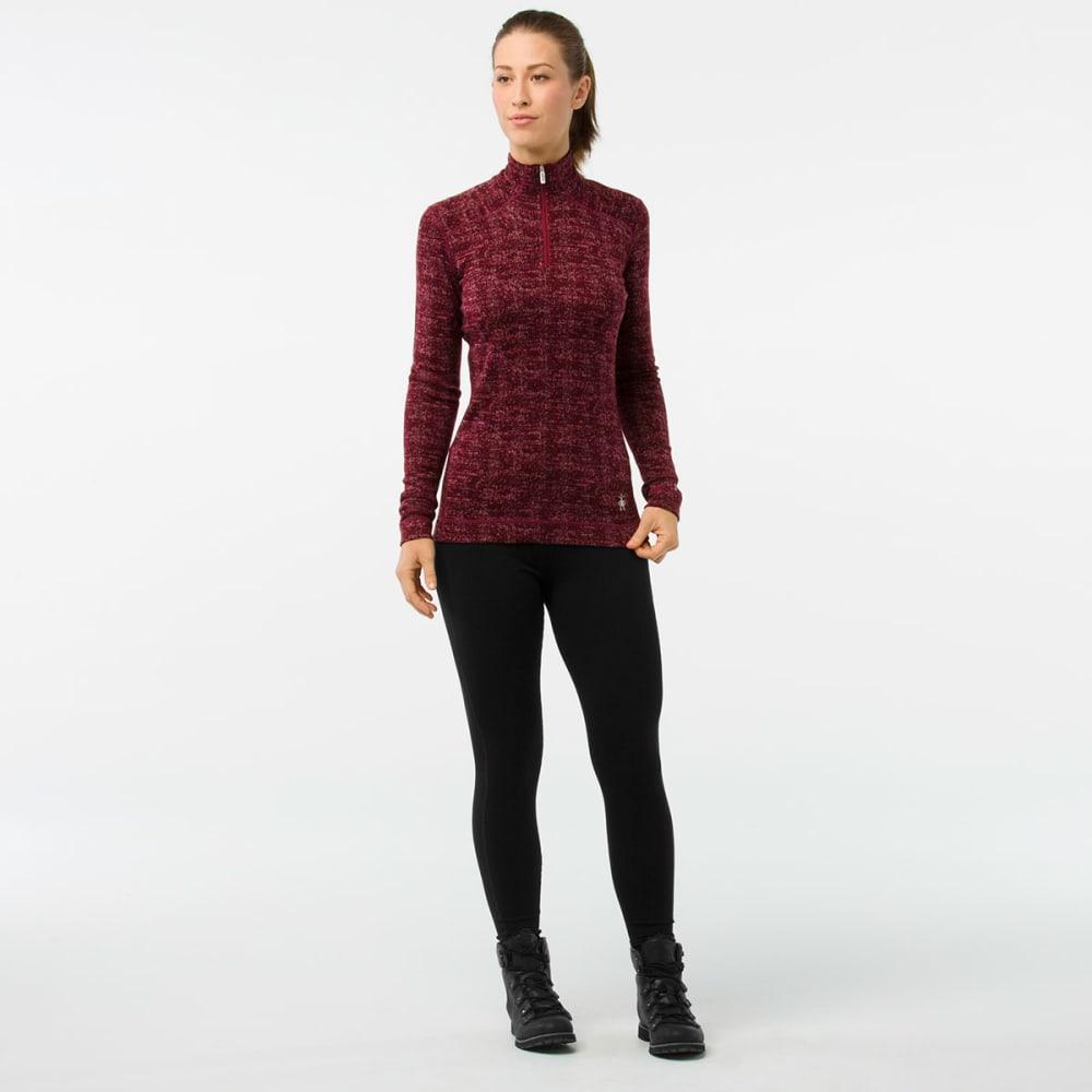 SMARTWOOL Women's NTS Mid 250 Pattern Zip T - A13-FIG