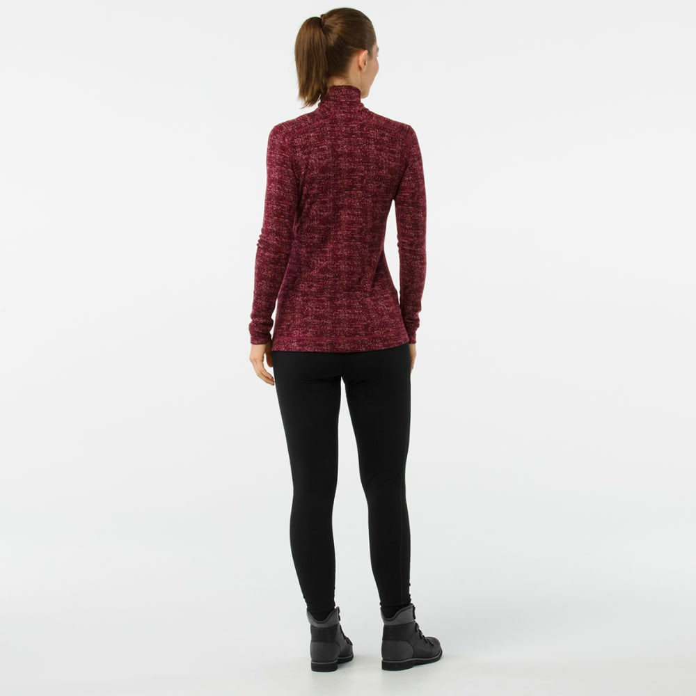 SMARTWOOL Women's NTS Mid 250 Pattern Zip T - A13-FIG