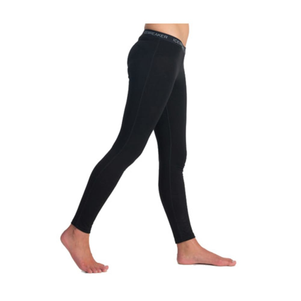ICEBREAKER Women's Oasis Lightweight Leggings - BLACK