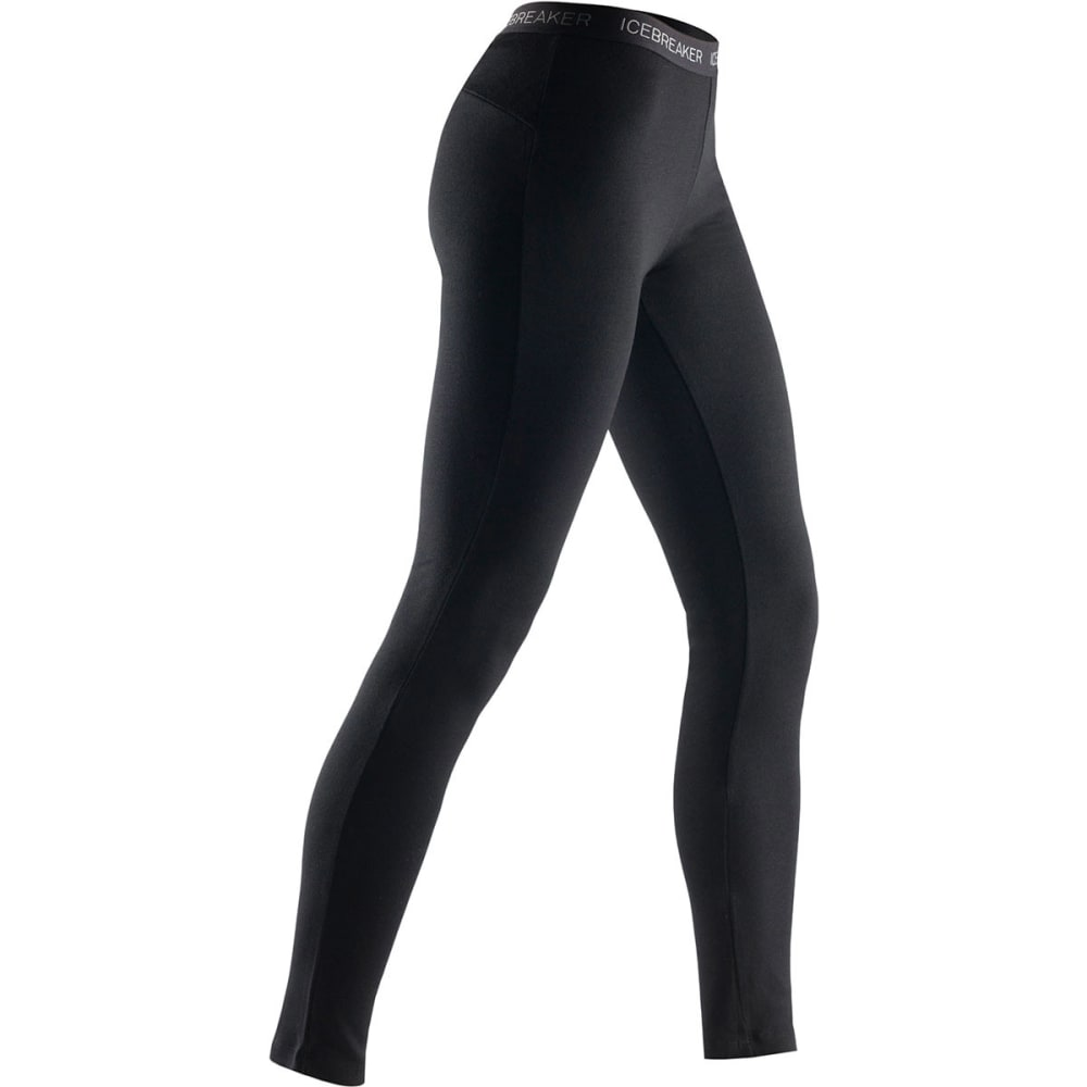 ICEBREAKER Women's Midweight Vertex Leggings - BLACK