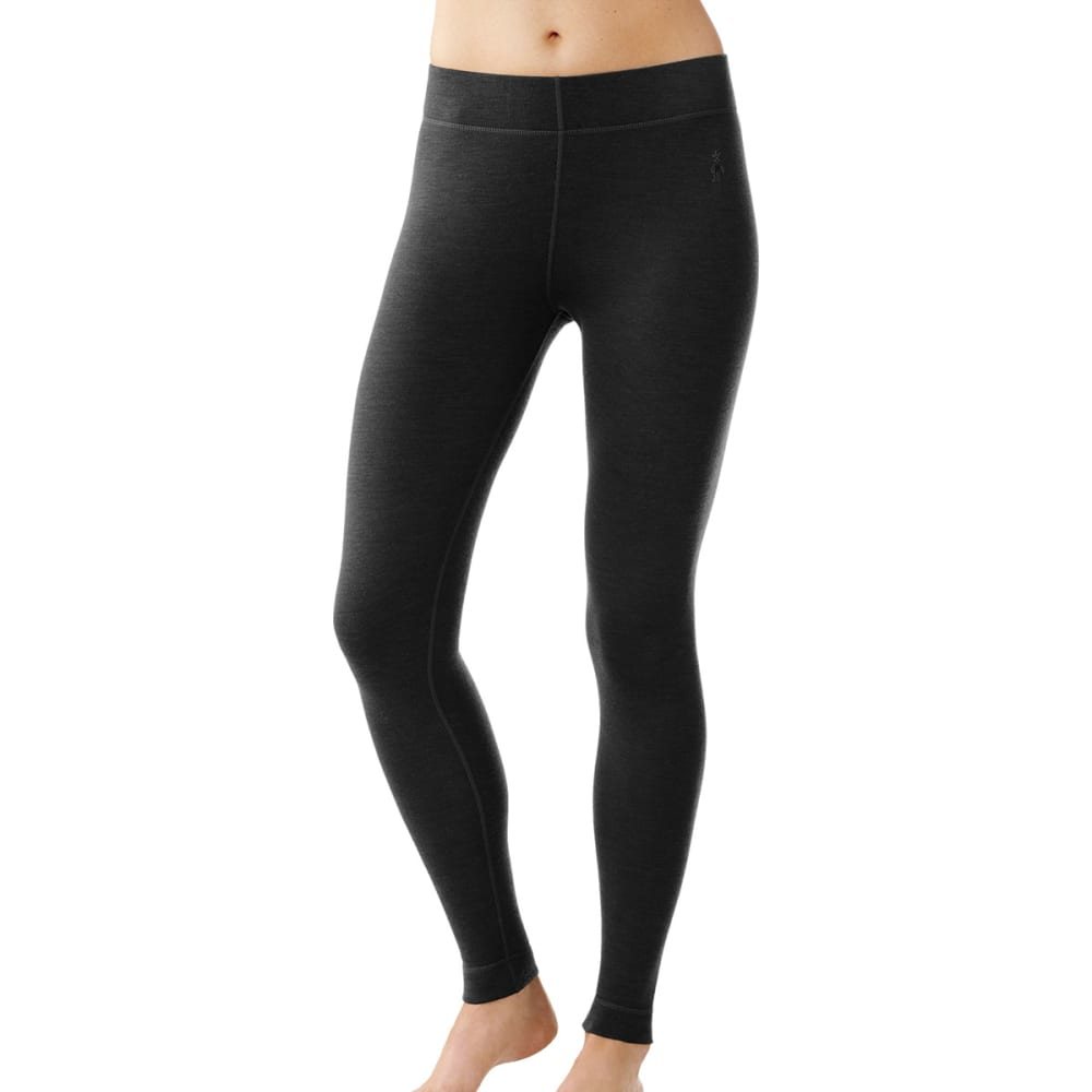 SMARTWOOL Women's NTS Mid 250 Bottoms - BLACK-001