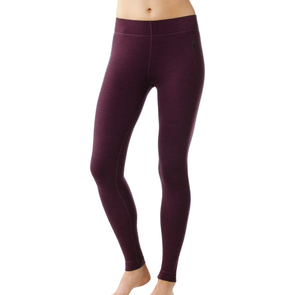 SMARTWOOL Women's NTS Mid 250 Bottoms - AUBERGINE