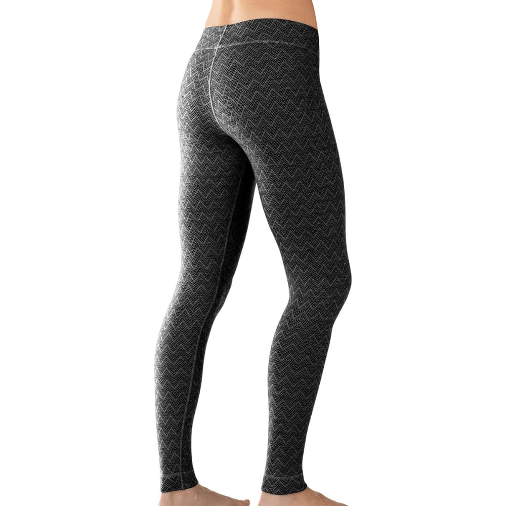 SMARTWOOL Women's NTS Mid 250 Pattern Bottoms - BLACK