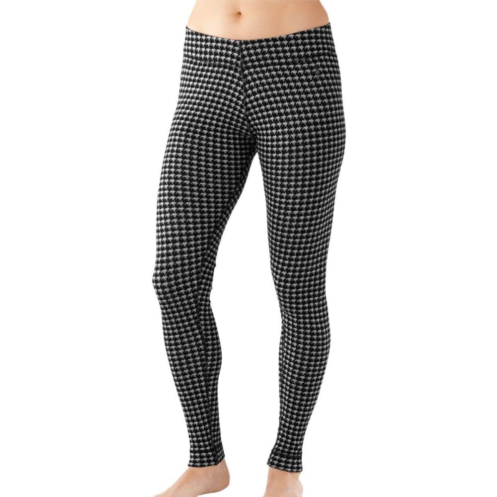 SMARTWOOL Women's NTS Mid 250 Pattern Bottoms - BLACK