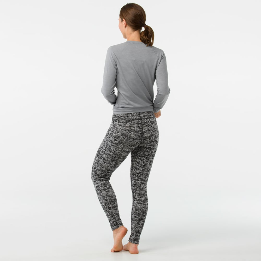 SMARTWOOL Women's NTS Mid 250 Pattern Bottoms - A51-blk/moonbeam