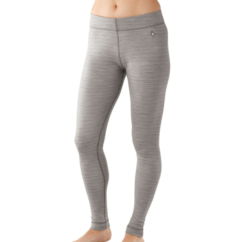 SMARTWOOL Women's NTS Mid 250 Pattern Bottoms - NATURAL GREY