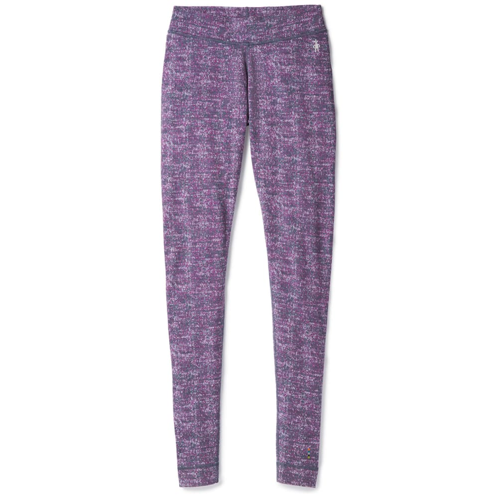 SMARTWOOL Women's NTS Mid 250 Pattern Bottoms - 292-DARK BLUE STEEL