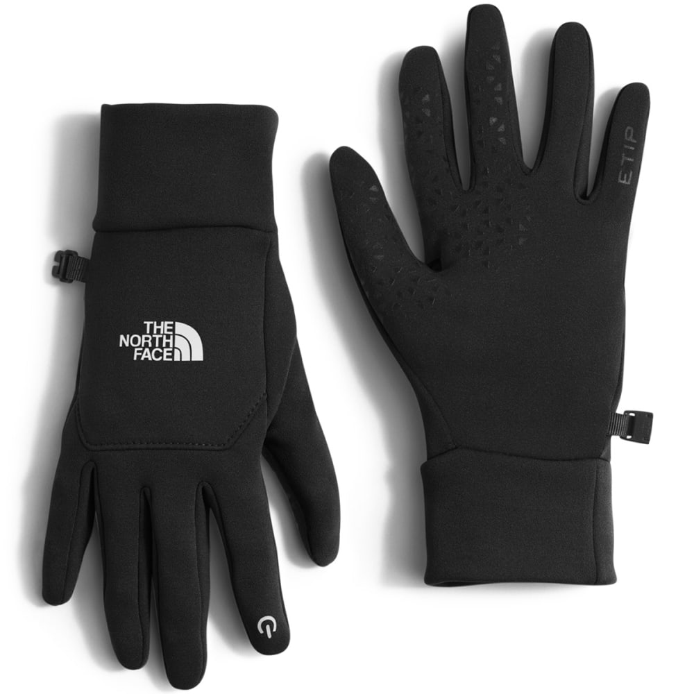 THE NORTH FACE Women's Etip Fleece Gloves - JK3-TNF BLACK