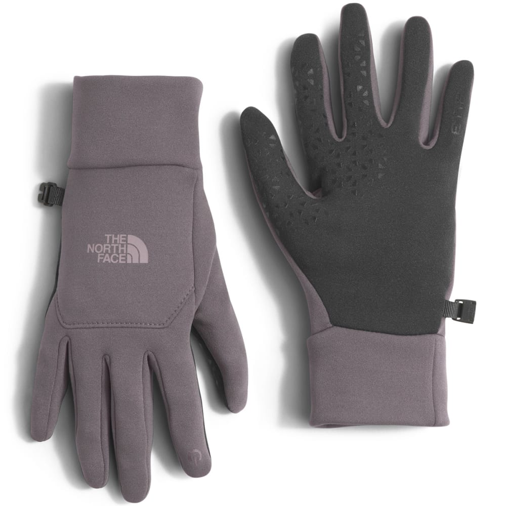 THE NORTH FACE Women's Etip Fleece Gloves - HCW-RABBIT GREY