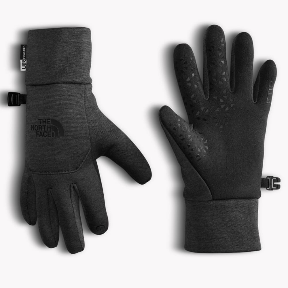 THE NORTH FACE Women's Etip Fleece Gloves - TNF DRK GREY HTR-JBU
