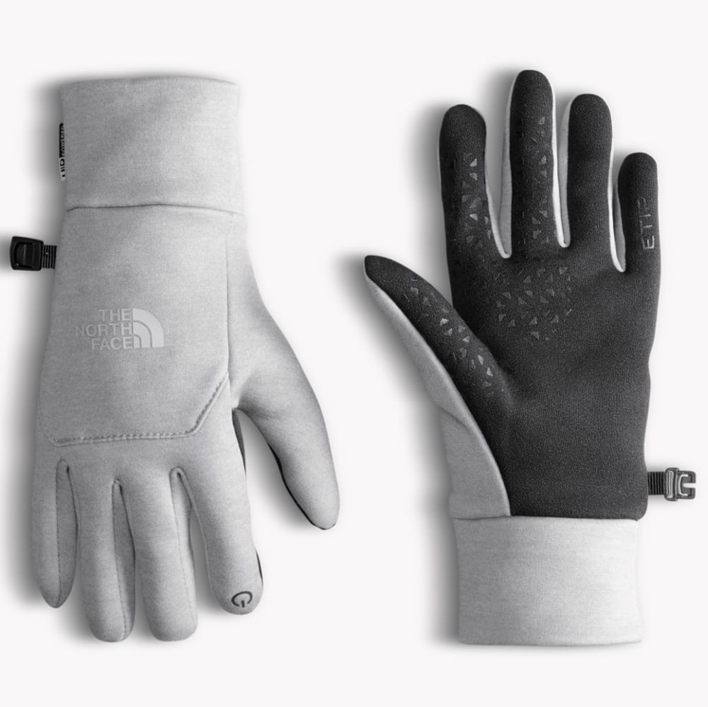 THE NORTH FACE Women's Etip Fleece Gloves - TNF LIGT GRY HTR-JBW