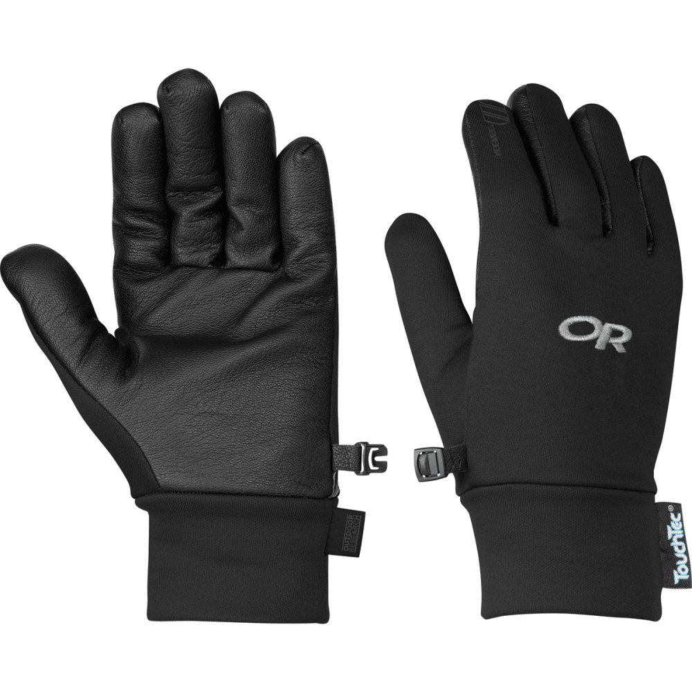 OUTDOOR RESEARCH Women's Sensor Gloves - BLACK
