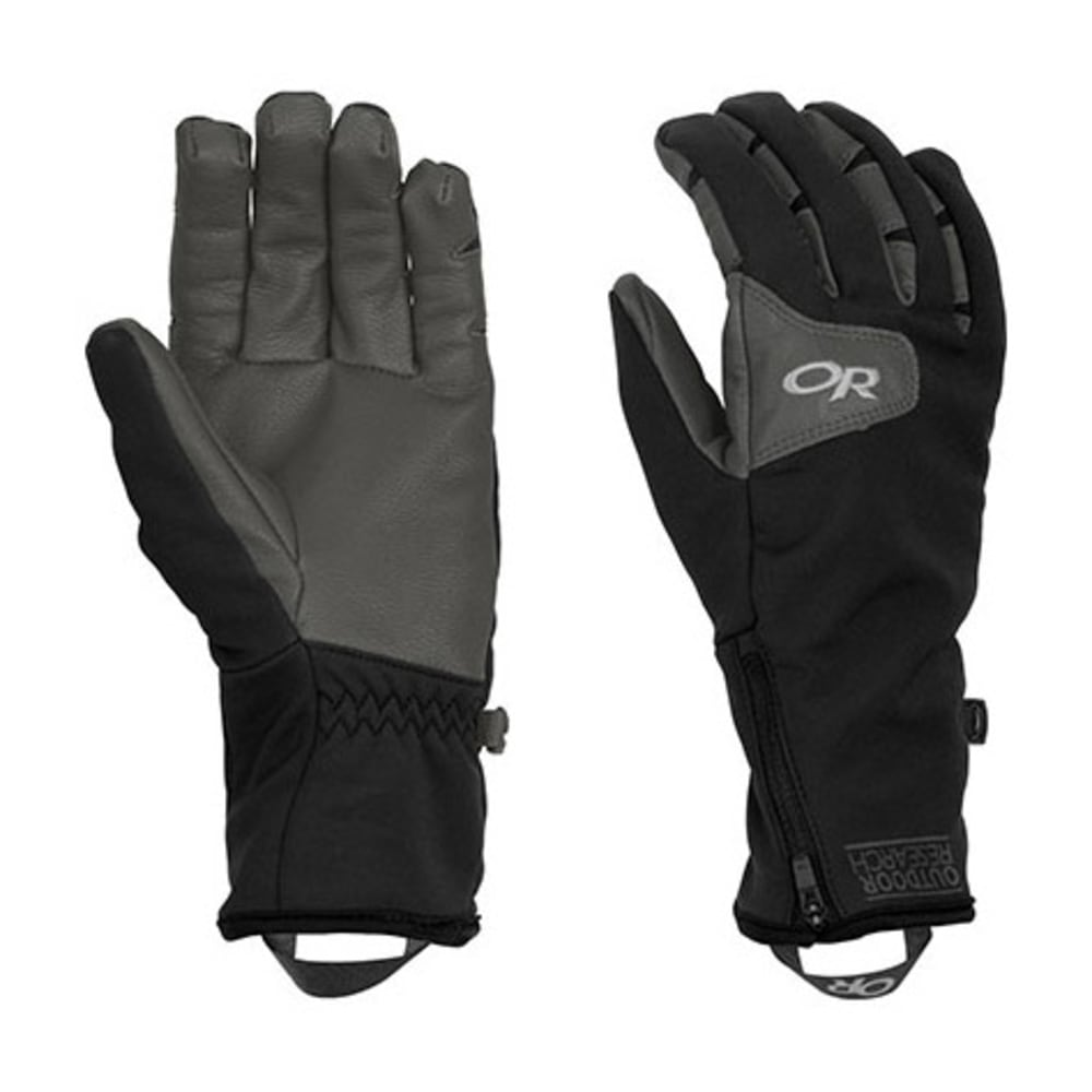 OUTDOOR RESEARCH Women's Stormtracker Gloves - BLACK/CHARCOAL