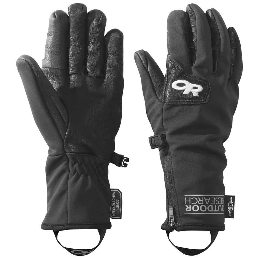 OUTDOOR RESEARCH Women's Stormtracker Gloves - BLACK