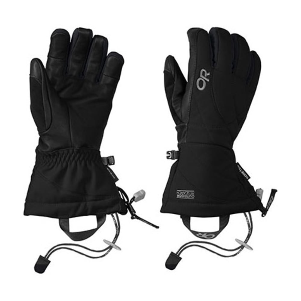 OUTDOOR RESEARCH Women's Southback Gloves - BLACK
