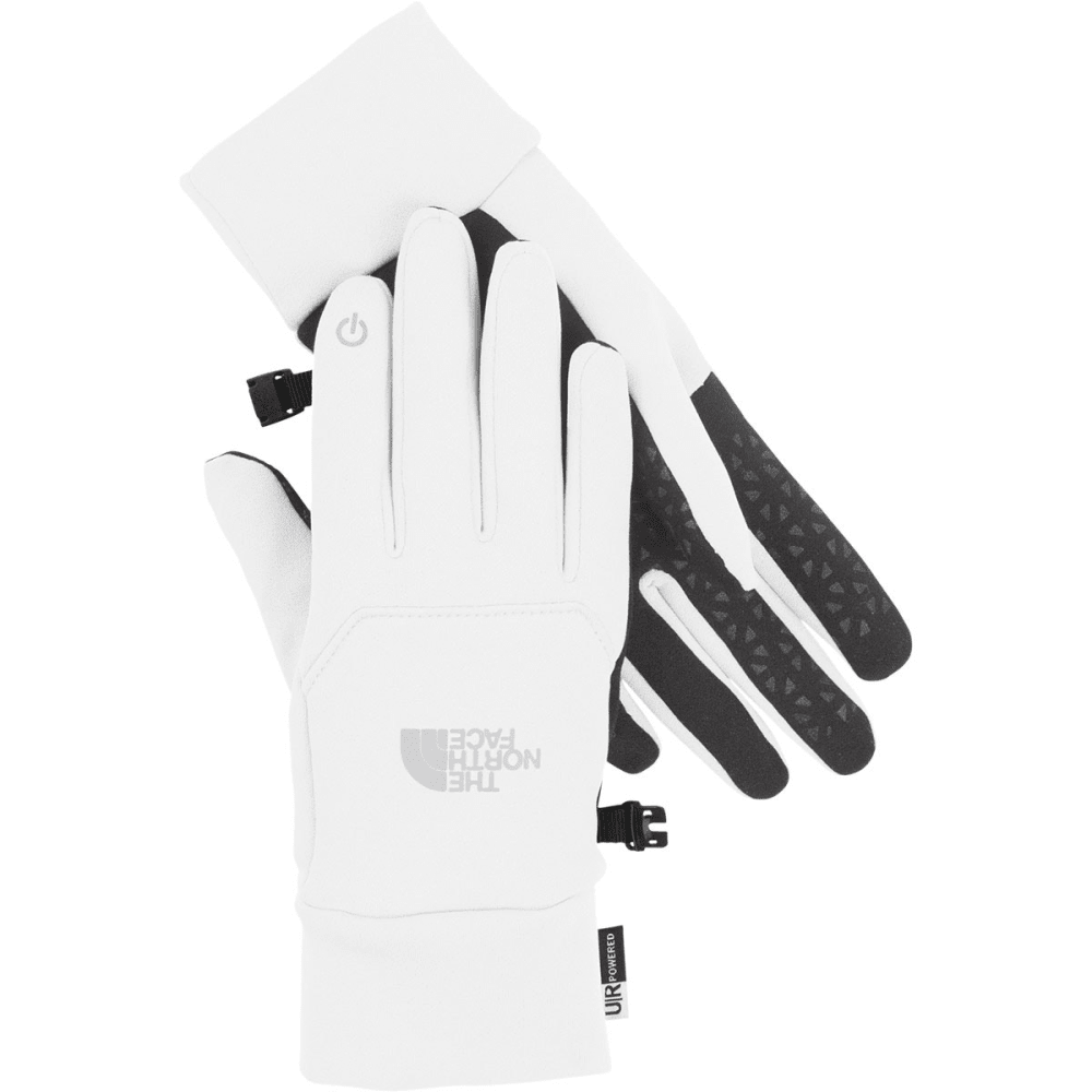 THE NORTH FACE Women's Etip Fleece Gloves - TNF WHITE