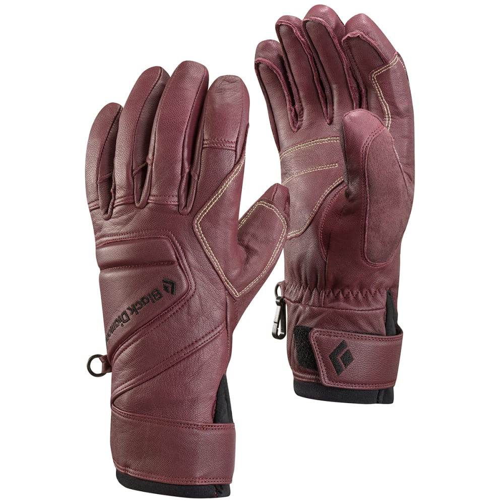 BLACK DIAMOND Women's Legend Gloves - MERLOT