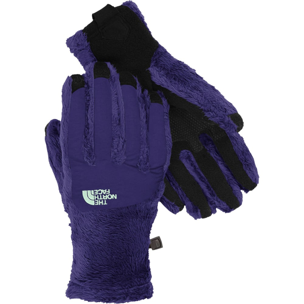 THE NORTH FACE Women's Denali Thermal Etip Fleece Gloves - GARNET PURPLE