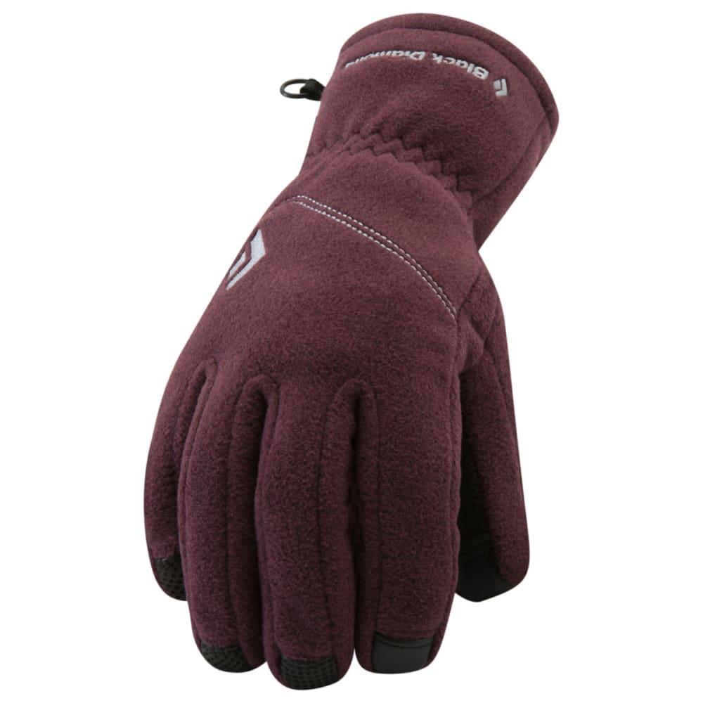 BLACK DIAMOND Women's WindWeight Gloves - WINE