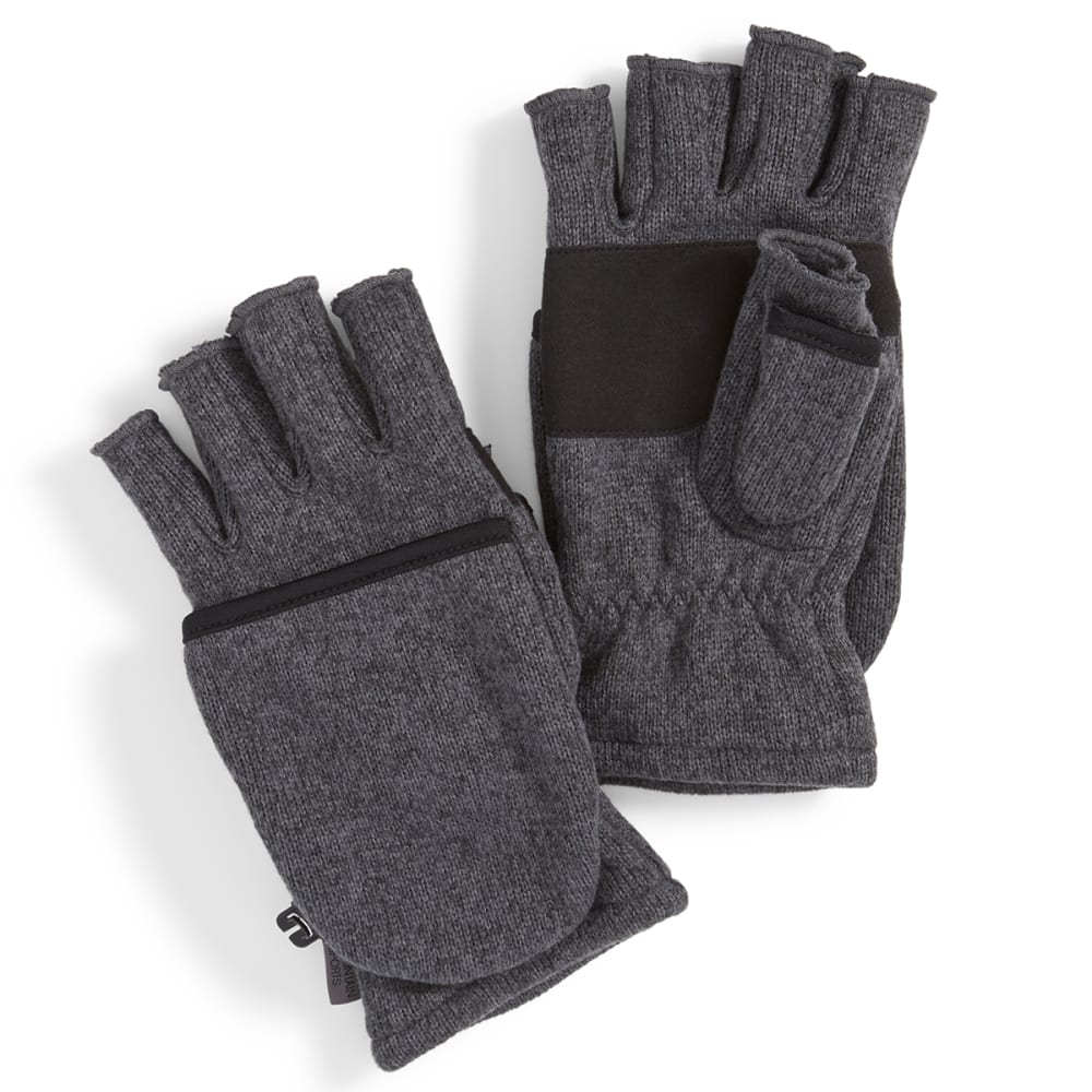 EMS® Women's Roundtrip Convertible Mittens - EBONY HEATHER