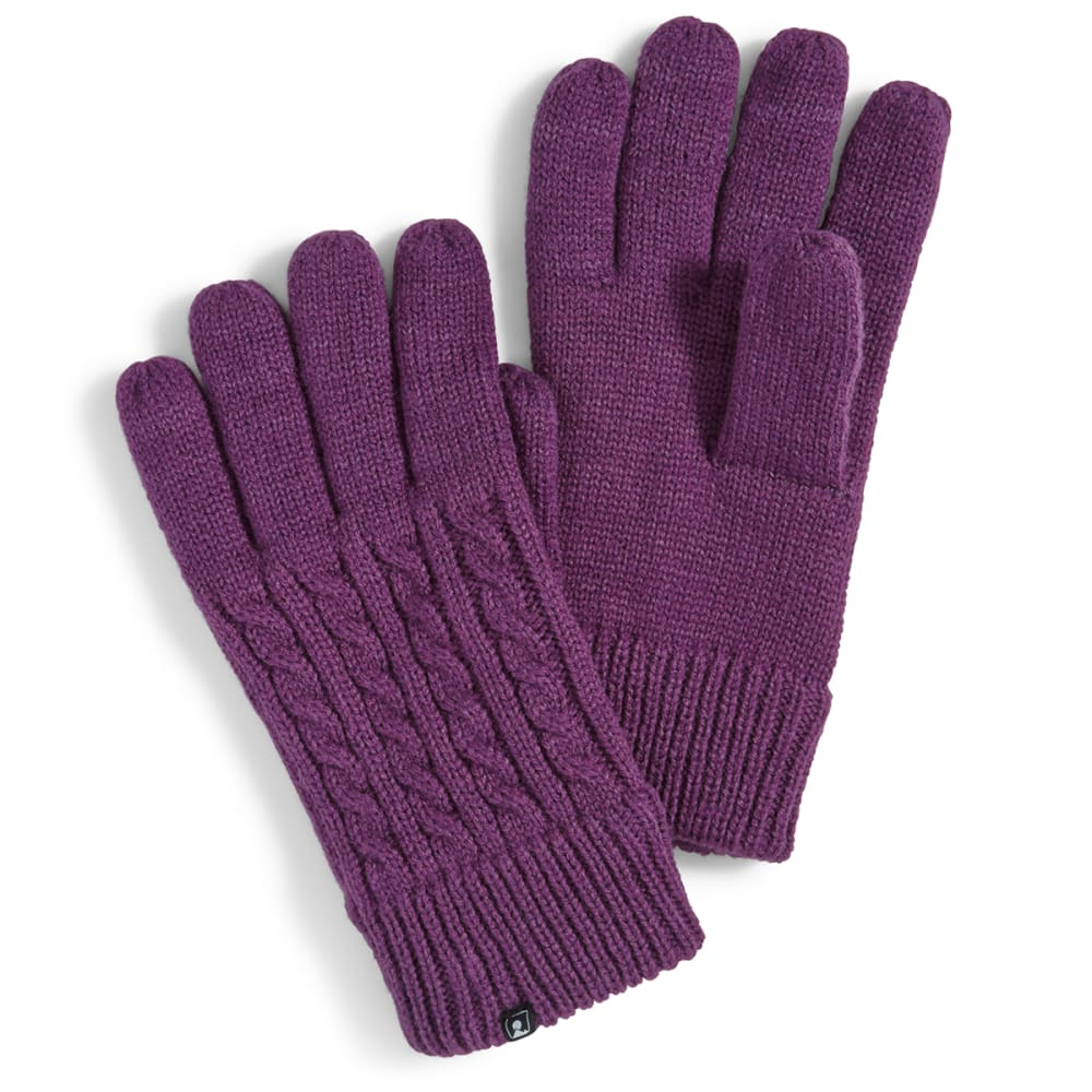 EMS® Women's Fashion Knit Glove - WINEBERRY