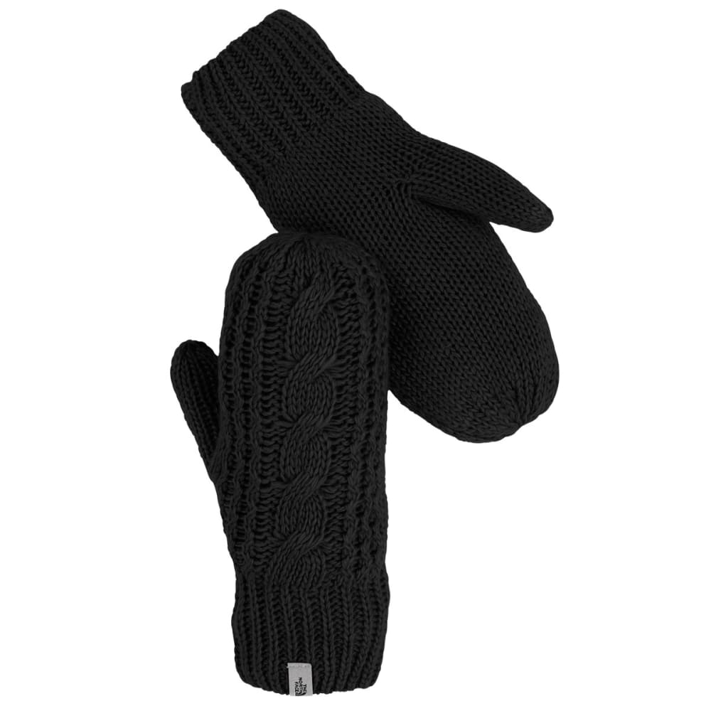 THE NORTH FACE Women's Cable Knit Mitt - JK3-TNF BLACK