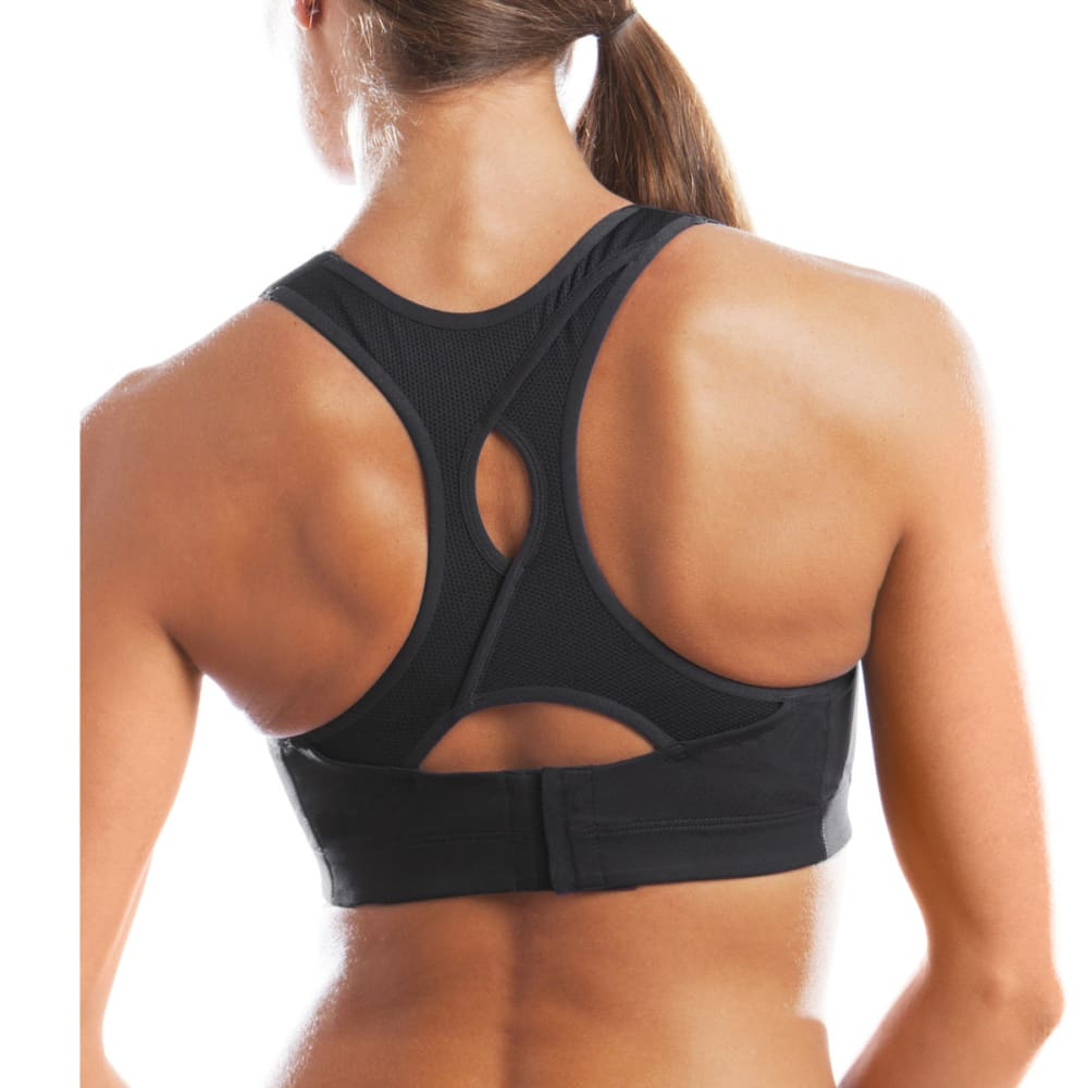 MOVING COMFORT Women's Juno Sports Bra - BLACK