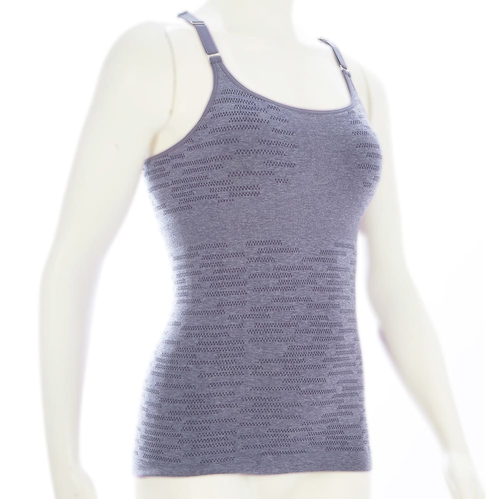 EMS® Women's Pulse Shelf Bra  - PERIWINKLE