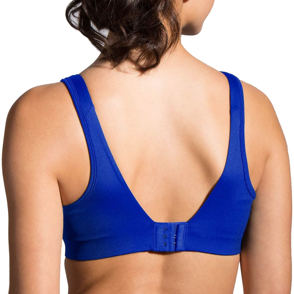 MOVING COMFORT Women's Fiona Sports Bra - COBALT