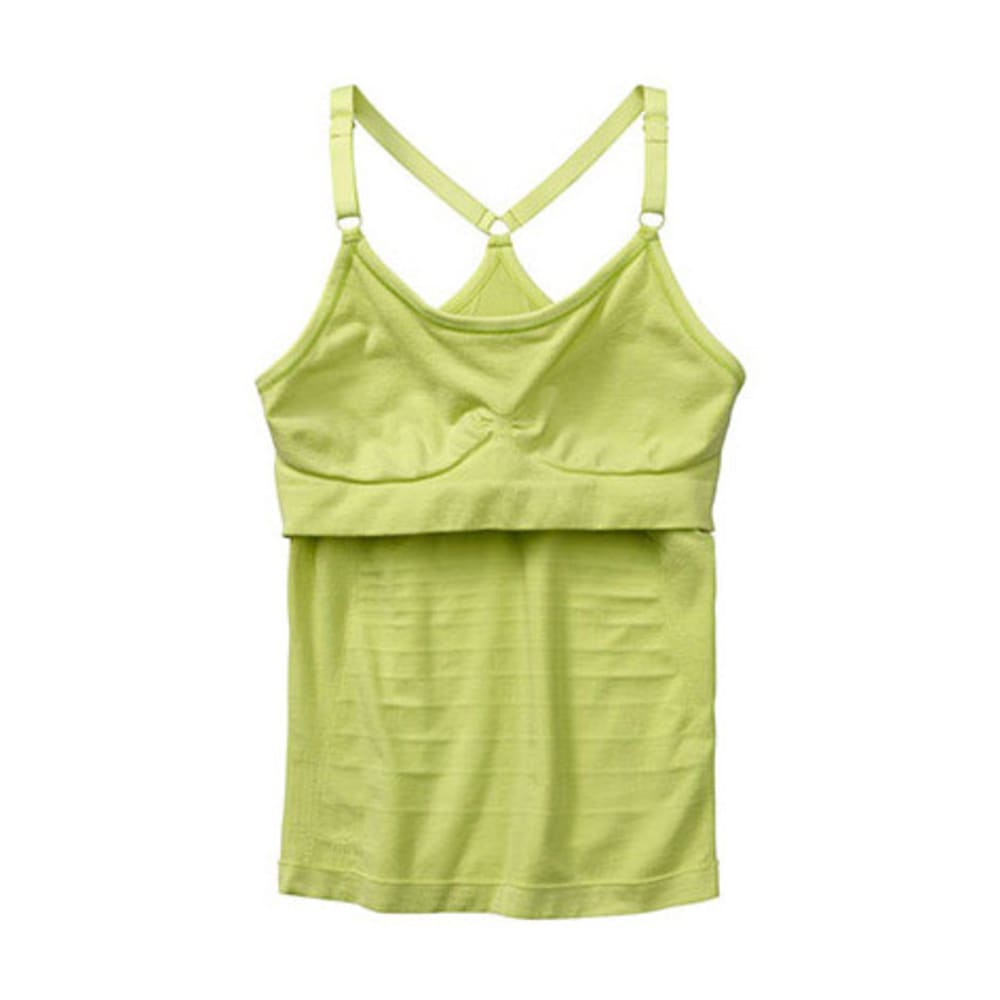 SMARTWOOL Women's PhD Seamless Long Bra - CITRON