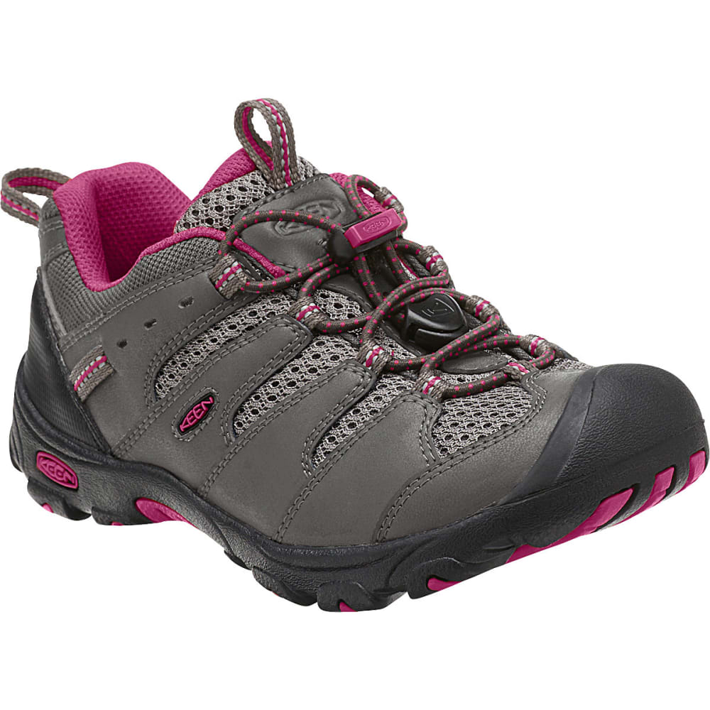 fb8c721bf5c0b KEEN Girls' Koven Low WP Hiking Shoes, Magnet/Cerise